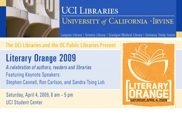 UCI Libraries Homepage